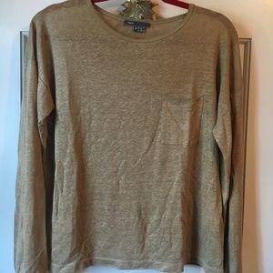 Beige Vince Medium Lightweight Pullover Sweater